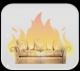 Установка для определения воспламеняемости элементов мягкой мебели
