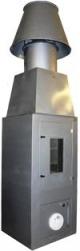 Установка для испытания строительных материалов на горючесть (Шахтная печь)