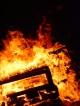 Установка для определения возгораемости под воздействием малого пламени